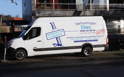 Verhuizingen Elias - Internationaal Transport